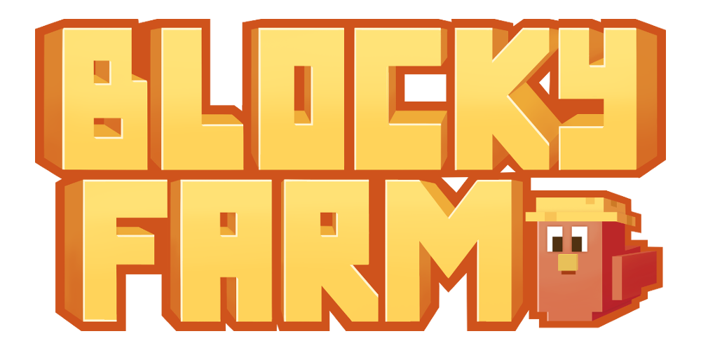 Blocky Farm Logo